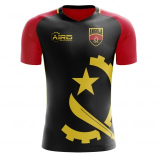 2020-2021 Angola Home Concept Football Shirt (Kids)