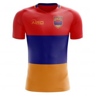 2018-2019 Armenia Home Concept Football Shirt - Womens