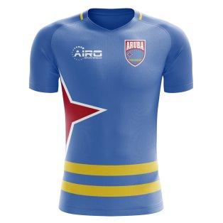 2018-2019 Aruba Home Concept Football Shirt (Kids)