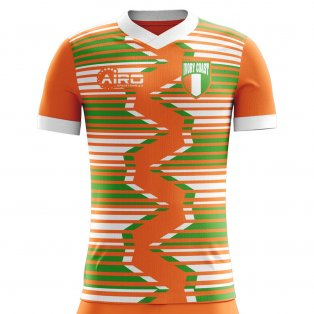 2018-2019 Ivory Coast Home Concept Football Shirt