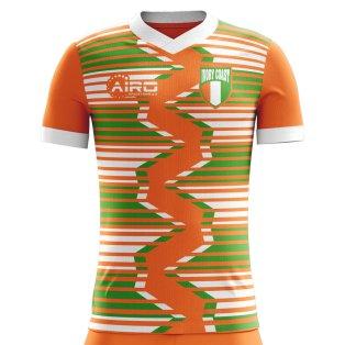2018-2019 Ivory Coast Home Concept Football Shirt - Womens