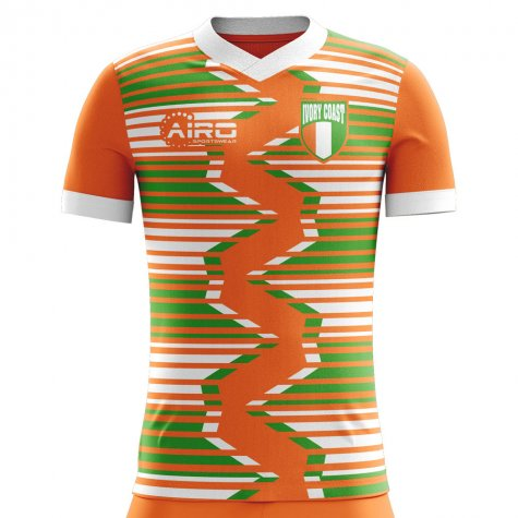 2020-2021 Ivory Coast Home Concept Football Shirt - Baby