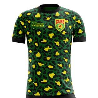 2018-2019 Zaire Home Concept Football Shirt