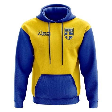 2018-2019 Sweden Home Concept Hoody