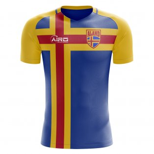 2018-2019 Aland Islands Home Concept Football Shirt