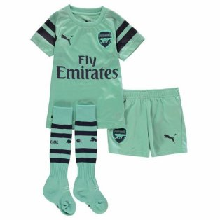 2018-2019 Arsenal Third Little Boys Mini Kit