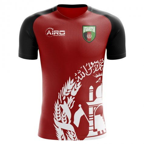 2020-2021 Afghanistan Home Concept Football Shirt - Womens