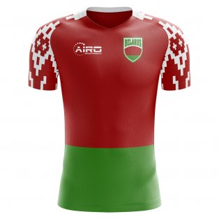2018-2019 Belarus Home Concept Football Shirt