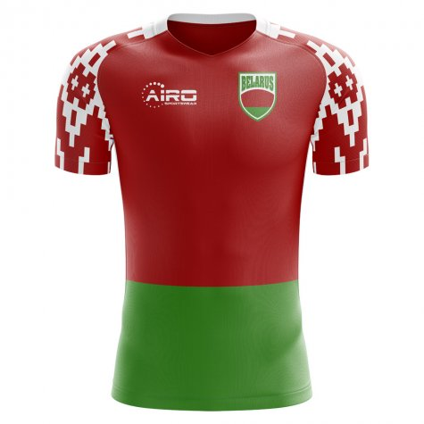 2018-2019 Belarus Home Concept Football Shirt (Kids)