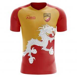 2018-2019 Bhutan Home Concept Football Shirt (Kids)