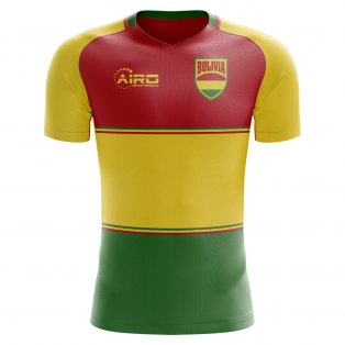 2018-2019 Bolivia Home Concept Football Shirt (Kids)
