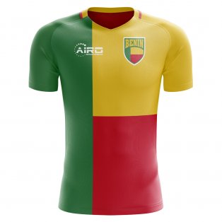 2018-2019 Benin Home Concept Football Shirt