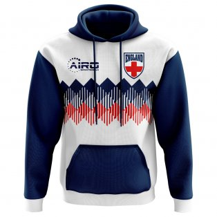 2020-2021 England Home Concept Football Hoody