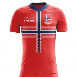2018-2019 Norway Home Concept Football Shirt