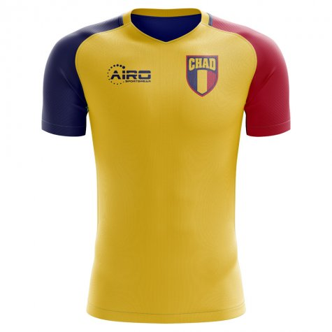 2020-2021 Chad Home Concept Football Shirt - Womens