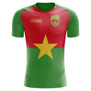 2020-2021 Burkina Faso Home Concept Football Shirt - Womens
