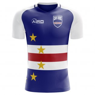 2020-2021 Cape Verde Home Concept Football Shirt - Womens