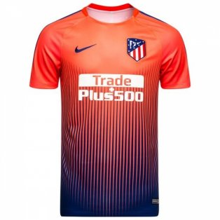 2018-2019 Atletico Madrid Nike Pre-Match Dry Training Shirt (Red)