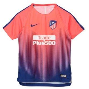 2018-2019 Atletico Madrid Nike Pre-Match Training Shirt (Bright Crimson) - Kids