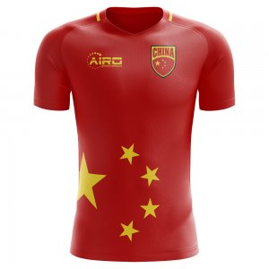 2020-2021 China Home Concept Football Shirt - Womens