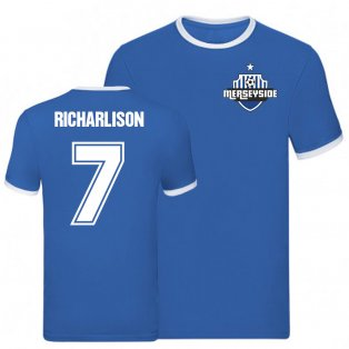 Richarlison Everton Ringer Tee (Blue)