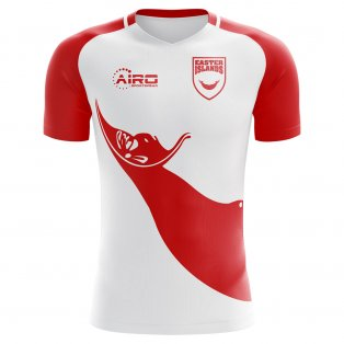 2018-2019 Easter Islands Home Concept Football Shirt