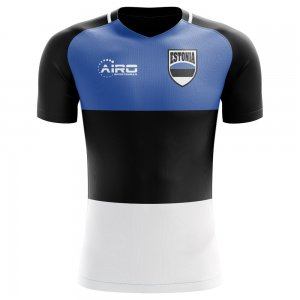 2018-2019 Estonia Home Concept Football Shirt - Little Boys