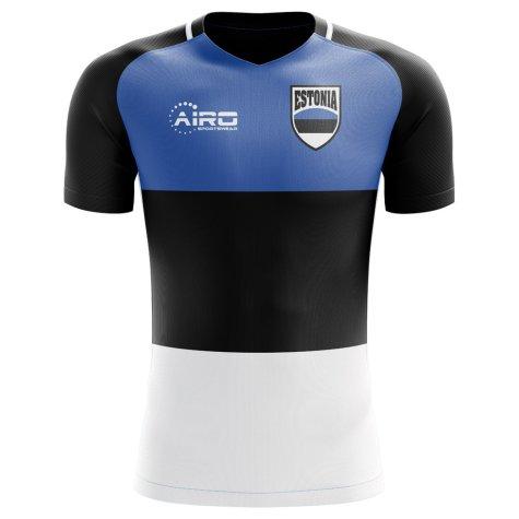 2018-2019 Estonia Home Concept Football Shirt (Kids)