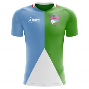 2018-2019 Djibouti Home Concept Football Shirt - Baby