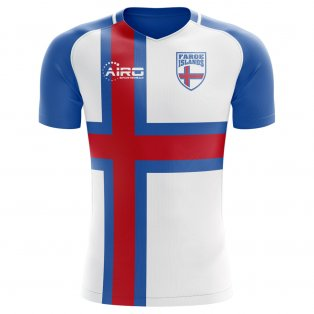 2018-2019 Faroe Islands Home Concept Football Shirt - Womens