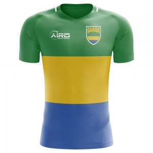2018-2019 Gabon Home Concept Football Shirt - Womens