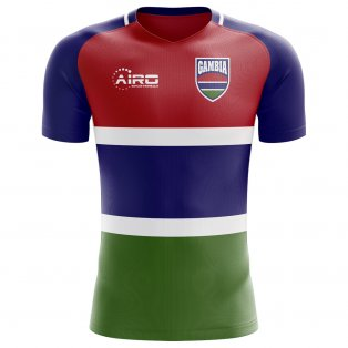 2018-2019 Gambia Home Concept Football Shirt