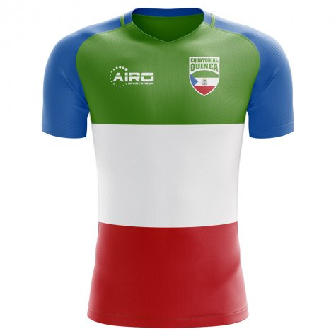 2018-2019 Equatorial Guinea Home Concept Football Shirt