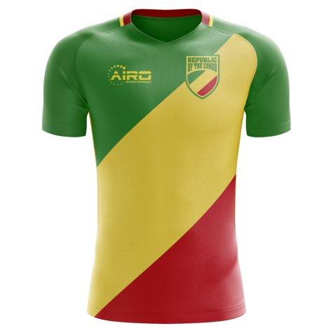 2018-2019 Republic of Congo Home Concept Football Shirt