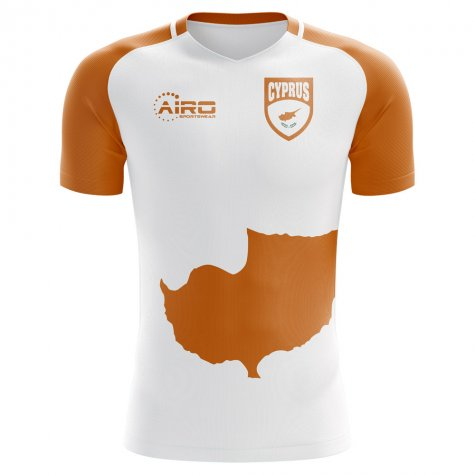 2018-2019 Cyprus Flag Home Concept Football Shirt