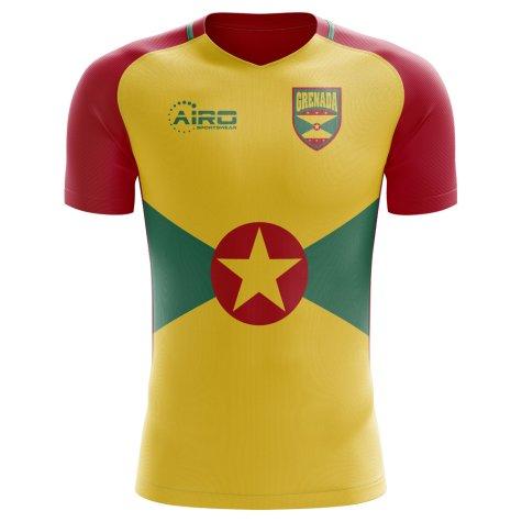 2018-2019 Grenada Home Concept Football Shirt
