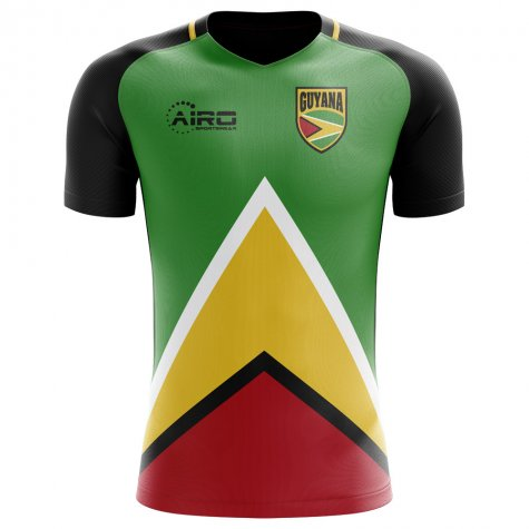 2018-2019 Guyana Home Concept Football Shirt