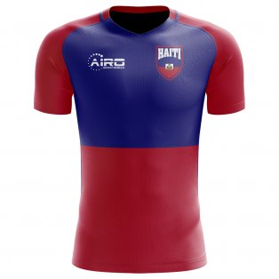 2018-2019 Haiti Home Concept Football Shirt