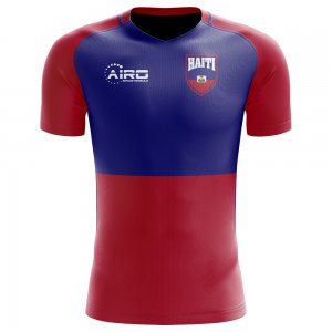 2018-2019 Haiti Home Concept Football Shirt (Kids)