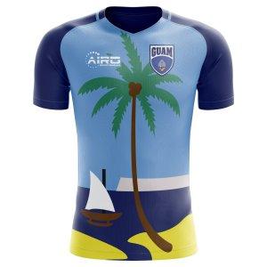 2018-2019 Guam Home Concept Football Shirt