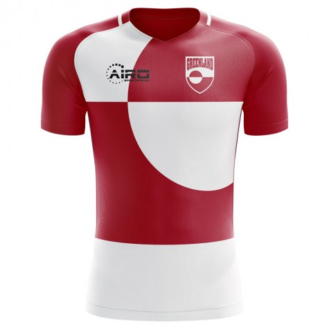 2018-2019 Greenland Home Concept Football Shirt