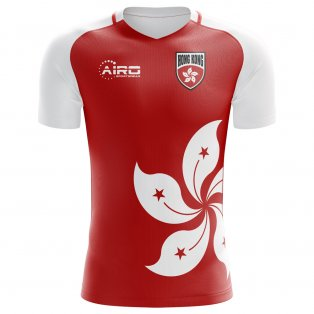 2018-2019 Hong Kong Home Concept Football Shirt