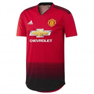 a2a75dc53f9 2018-2019 Man Utd Adidas Home Adi Zero Football Shirt