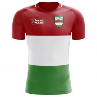 2020-2021 Hungary Home Concept Football Shirt - Womens