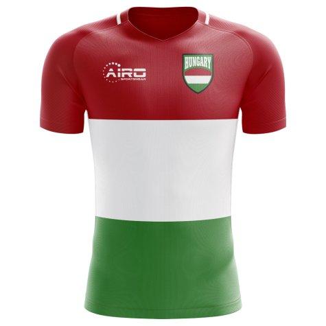 2089d63677b 2018-2019 Hungary Home Concept Football Shirt (Kids)  HUNGARYHKIDS ...