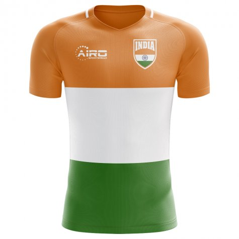 6e5810e2ac6 2018-2019 India Home Concept Football Shirt  INDIAH  - Uksoccershop