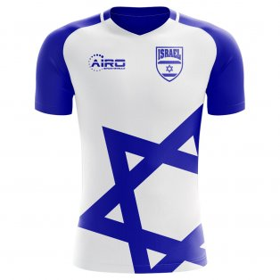 2018-2019 Israel Home Concept Football Shirt - Womens