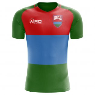 2018-2019 Karelia Home Concept Football Shirt - Kids