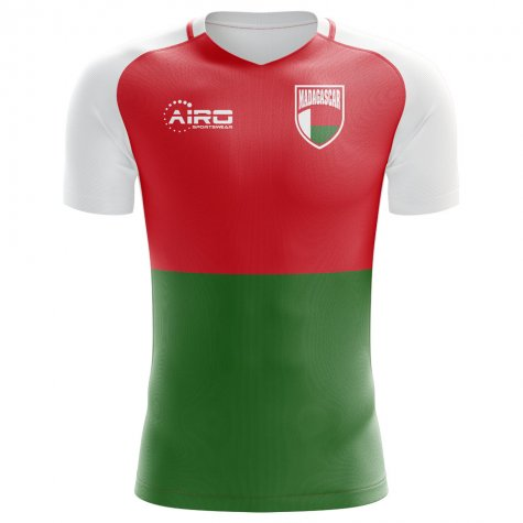 2018-2019 Madagascar Home Concept Football Shirt