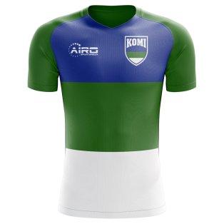 2018-2019 Komi Home Concept Football Shirt